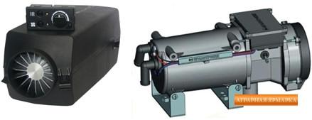 Авторефрежераторы и автономные холодильные установки,  отопитель (фен)  салона 4Д 12 / 24 Самара