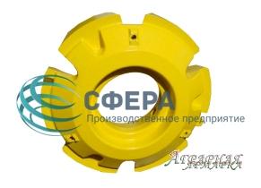 Балласт колесный John Deere,  вес 625 кг