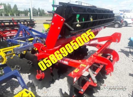 Дисковая борона Pallada2400/2400-01 отличный вариант для работы с почвой