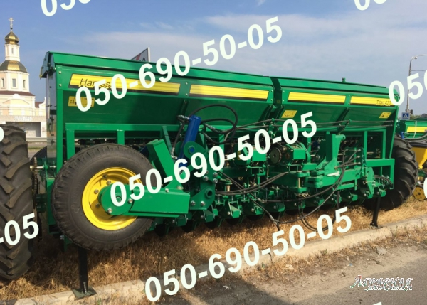 Сеялка Титан-4, 2/Титан-6, 3 для посева зерновых по технике mini-till