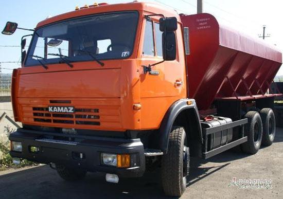 Кормовоз ЗСК-15 КАМАЗ 43253