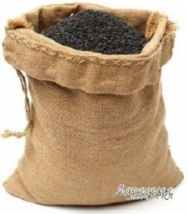 Кунжут черный,  семена,  25 кг