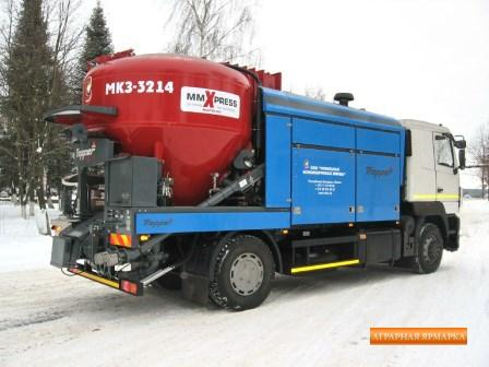 Мобильный комбикормовый завод 3214 Tropper (Австрия)