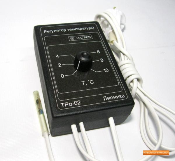 Мощный терморегулятор электронный ТРо-02.     М  для омшаника,      овощехранилища