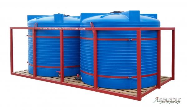 Кассета для перевозки воды и ЖКУ 2*4500