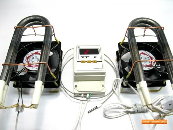 Термостат  цифровой  для  фермерского  инкубатора