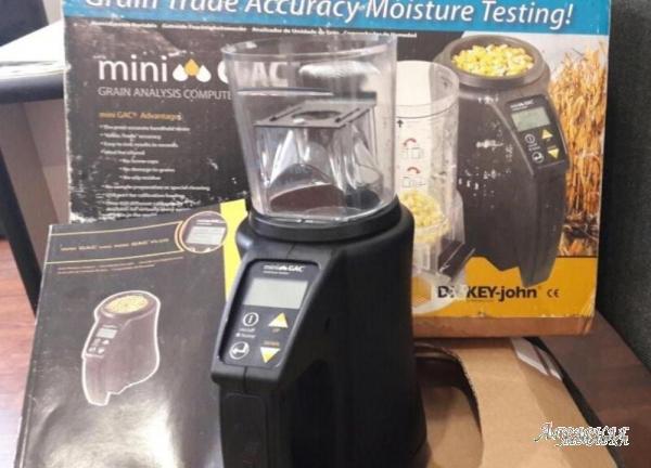 Вимірювач вологості зерна Mini GAC дешево реально