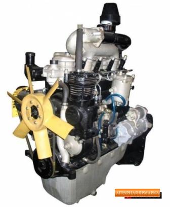 Двигатель ММЗ Д-243-202Н,  без стартера, (МТЗ-80,  82)  81 л. с
