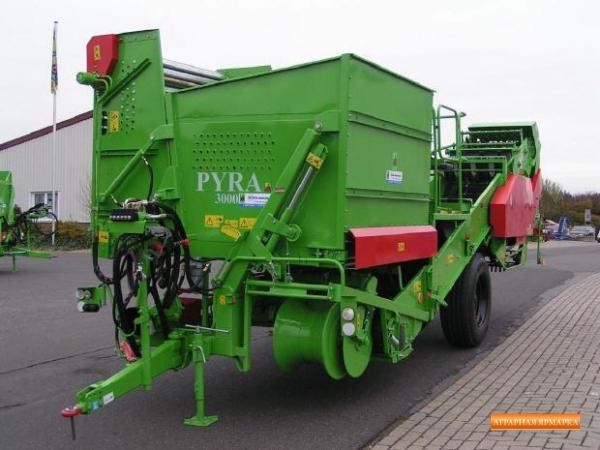 Картофелеуборочный комбайн PURA 3000 (UNIA Польша)