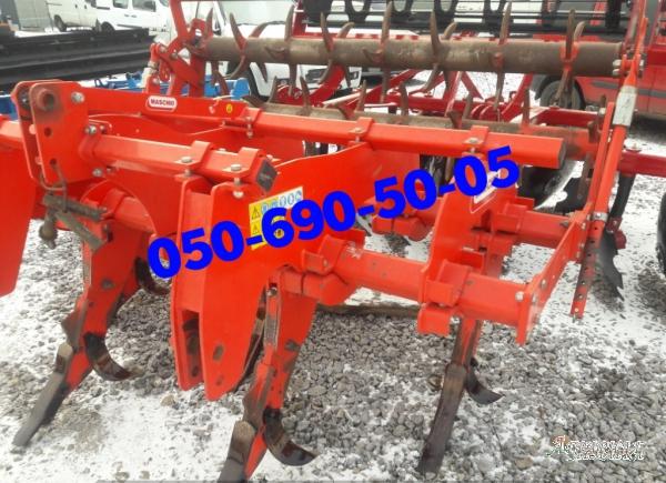 В наличии на площадке б/у глубокорыхлитель PINOCCHIO 250/5 Gaspardo (наработка 450 га)  с механическим катком