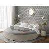 Двуспальная круглая кровать «Милана»
