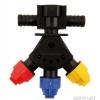 Головка для опрыскивателя маятниковая проходная АР0-100/GW08/P