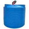Пластиковая емкость 5000л в синем цвете