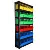 Стеллаж сборно-разборный с ящиком пластиковым
